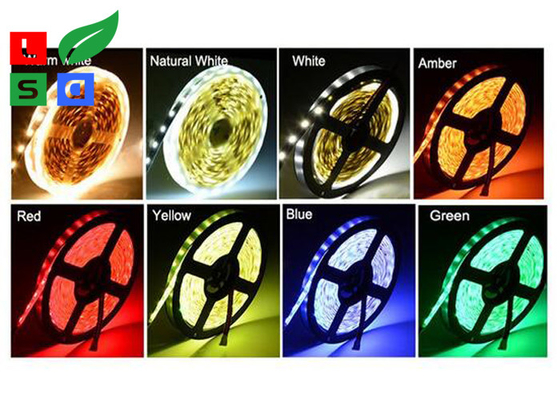 12V 5050 SMD Flexible LED Strip Lights With IR Remote Controller For Decorating Lighting